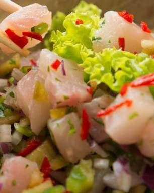 Ceviche de tilápia: opção de refeição diferente e fácil