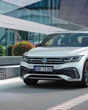 Volkswagen Tiguan Allspace muda design e chega em 2022