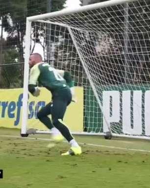 """PALMEIRAS: Danilo mostra confiança para decisão contra o Bragantino pelas quartas de final do Paulista: """"Vamos entrar pra dar o nosso melhor"""""""