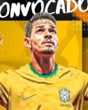Lucas Veríssimo celebra primeira convocação para a Seleção Brasileira: 'Realizei mais um sonho'