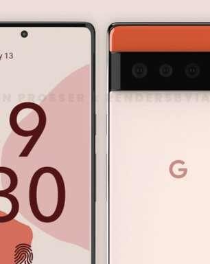 Google Pixel 6 e 6 Pro com visual remodelado surgem em renderizações