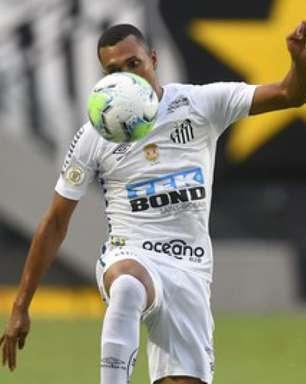 Lucas Braga sobre renovação com o Santos: 'Minha vontade é ficar'