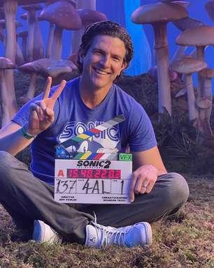 Diretor anuncia final das filmagens de 'Sonic: O Filme 2'