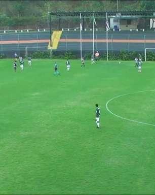 Palmeiras goleia Botafogo pela segunda rodada do Campeonato Brasileiro sub-17