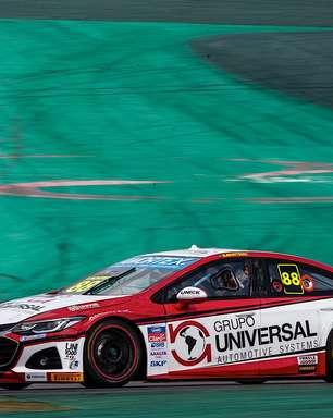 Beto Monteiro é destaque entre os estreantes e abre a 6ª fila do grid da Stock Car em Interlagos