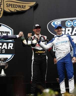 Grosjean é 2º no GP de Indianápolis na Indy e consegue primeiro pódio desde 2015