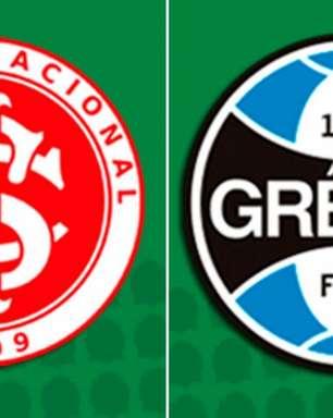 Internacional x Grêmio: prováveis times, onde assistir e desfalques