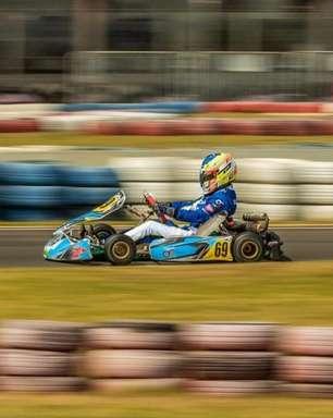 Pedro Clerot vence corrida em Interlagos na 2ª etapa do Paulista Light de Kart