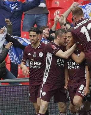Leicester vence o Chelsea com golaço de Tielemans e é campeão da Copa da Inglaterra pela primeira vez