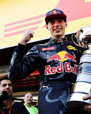 Verstappen, cinco anos atrás: o mais jovem vencedor da F1