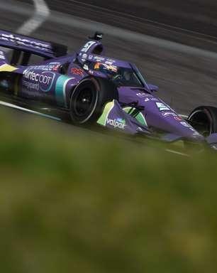 Grosjean satisfeito com segundo lugar na Indy