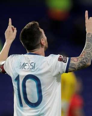 Copa: Messi, Agüero e Dí María são convocados pela Argentina