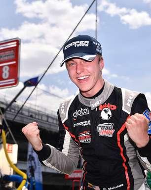 Malukas bate Sowery na linha de chegada e vence corrida 2 da Indy Lights em Indianápolis