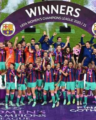 Barcelona goleia o Chelsea por 4 a 0 e é campeão da Champions League feminina pela primeira vez