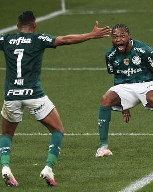 Auxiliar do Palmeiras explica posição de Luiz Adriano e Rony