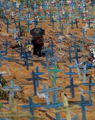 Brasil tem 2ª feira com menos mortes nas últimas 11 semanas