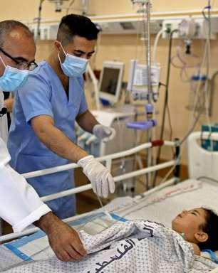 Covid e conflito: hospitais de Gaza estão sobrecarregados
