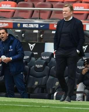 Barcelona está próximo de demitir Ronald Koeman do comando técnico