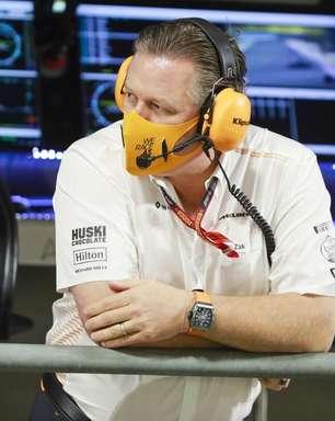 Brown diz que rivalidade entre Hamilton e Verstappen pode ser boa para a McLaren F1