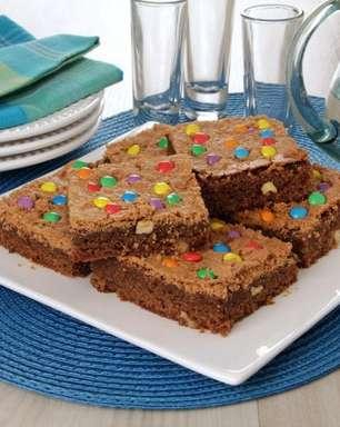 Receitas fáceis e deliciosas de brownie para saborear