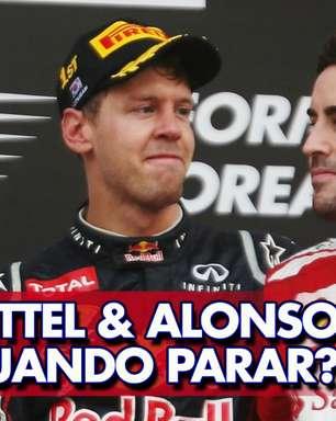 GP às 10: É hora de parar? Flavio Gomes questiona motivação de Alonso e Vettel na F1