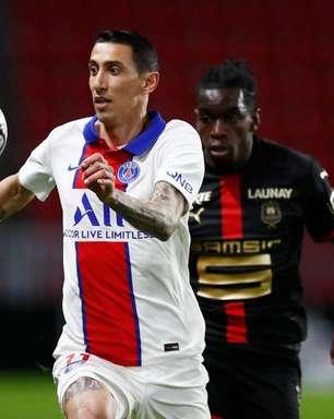 Di Maria é suspenso por três jogos por lance com Fernandinho