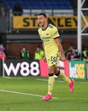 Martinelli marca em empate do Arsenal e celebra boa fase com convocação: 'Motivo de orgulho'