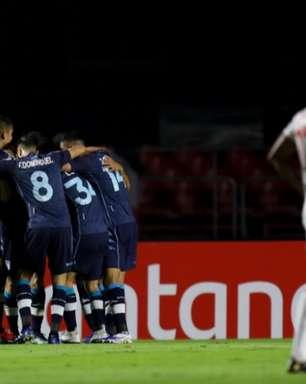 São Paulo é derrotado pelo Racing na Libertadores e perde invencibilidade de 14 jogos na temporada