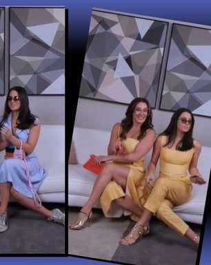 Raia e Sophia viralizam com vídeo para Reinaldo Lourenço