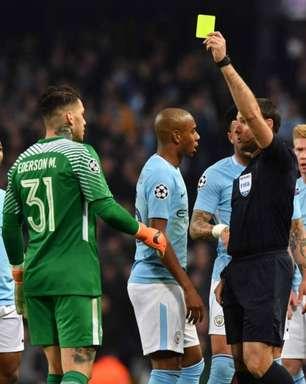 Árbitro da final da Champions League coleciona polêmicas com Guardiola e Manchester City