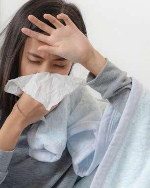 Sintomas de gripe podem se confundir com os da Covid-19