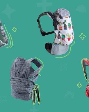 16 slings e cangurus confortáveis para você e seu bebê ficarem juntinhos