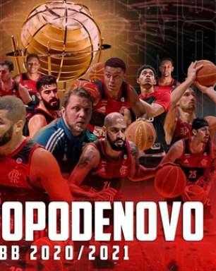 Flamengo vence São Paulo e é heptacampeão do NBB