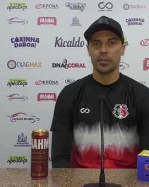 """SANTA CRUZ: Bolívar acredita que equipe terá o seu DNA na estreia contra o Manaus: """"Vamos ter a cara e o perfil do clube"""""""
