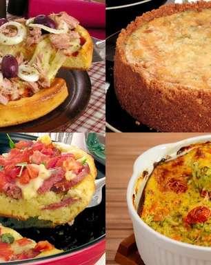 Além do frango: aprenda 7 tortas salgadas fáceis de fazer!