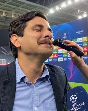 Jorginho e repórter da TNT cumprem aposta após título do Chelsea e ficam de 'cara limpa'; veja o resultado