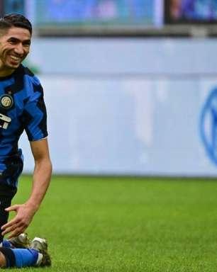 PSG e Inter de Milão chegam a acordo, e Hakimi fica perto de ser anunciado pelo time francês