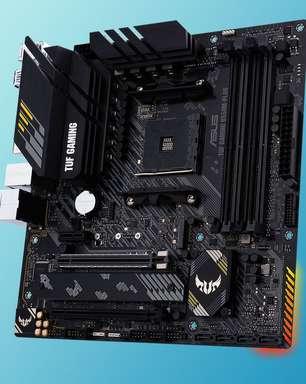 Resenha: Asus Tuf Gaming B550M-Plus y otras cositas