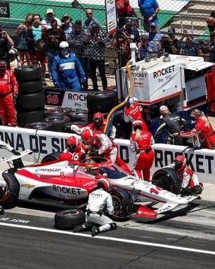 """Paretta lamenta abandono na Indy 500, mas diz que """"foi melhor que esperado"""""""