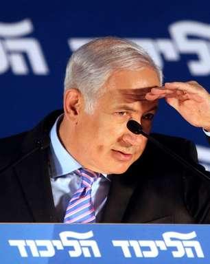 """Netanyahu alega que coalizão israelense é """"fraude eleitoral"""""""