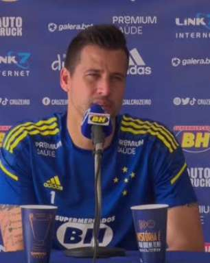 """CRUZEIRO: Fábio avalia positivamente os treinos realizados antes do confronto contra o Juazeirense pela Copa do Brasil: """"Queremos fazer um jogo consistente"""""""