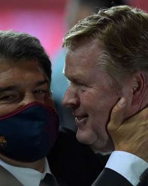 Presidente do Barcelona confirma continuidade de Ronald Koeman no clube