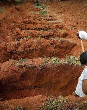 Brasil tem mais 2.200 mortes por covid nas últimas 24 horas