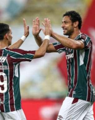 Fred marca pelo Fluminense, fica a um gol de Romário como maior artilheiro da Copa do Brasil e celebra