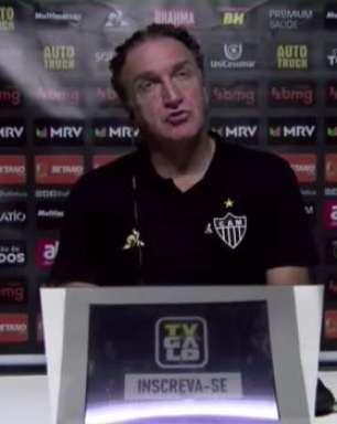 """ATLÉTICO-MG: Cuca explica esquema tático para vencer o Remo: """"Ganhamos o meio-campo"""""""
