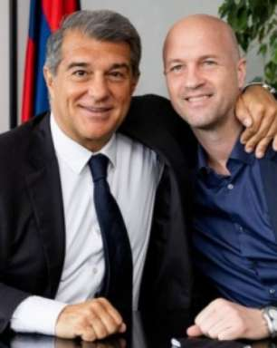 Barcelona anuncia filho de Johan Cruyff como dirigente e braço direito de Laporta