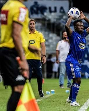 Cruzeiro afasta o lateral Klebinho que teve contato com uma pessoa infectada pela Covid-19