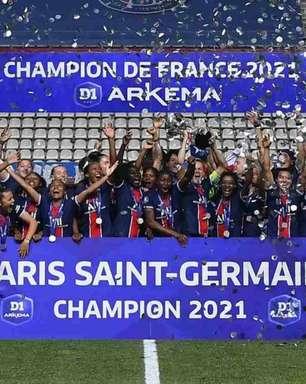 Com Formiga e Luana, PSG encerra domínio do Lyon e vence o Campeonato Francês feminino