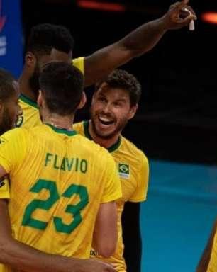 Brasil se recupera na Liga das Nações masculina e bate Japão