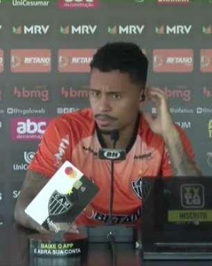 """ATLÉTICO-MG: Allan lamenta derrota em casa para o Fortaleza e espera resultado positivo contra o Sport: """"Queremos tampar o buraco que ficou do primeiro jogo"""""""